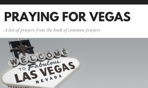 Praying for vegas