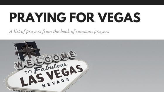 Praying for vegas
